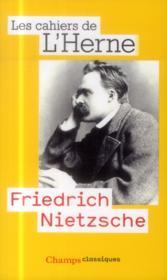 Friedrich Nietzsche - Couverture - Format classique