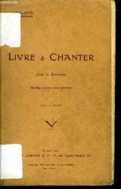 Livre A Chanter - Couverture - Format classique