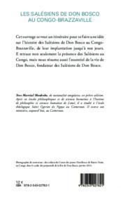 Les Salésiens de Don Bosco au Congo Brazzaville (1959-2009) - Couverture - Format classique