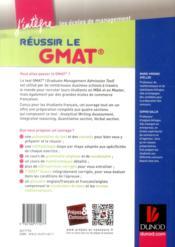 Réussir le GMAT ; tout-en-un - 4ème de couverture - Format classique