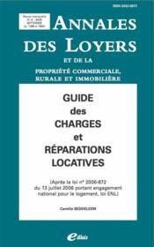 Guide des charges de copropriété ; à jour des réformes du 13 décembre 2000, 27 mai 2004 et 14 mars 2005 - Couverture - Format classique