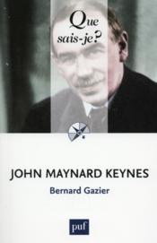 John Maynard Keynes (2e édition) - Couverture - Format classique