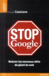 Stop Google - Couverture - Format classique
