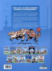 Les rugbymen T.13 ; ruck and maul pour un maillot - 4ème de couverture - Format classique