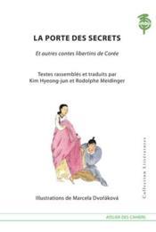 La porte des secrets et autres contes libertins de Corée - Couverture - Format classique