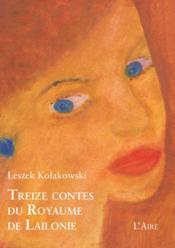 Treize contes du royaume de Lailonie - Couverture - Format classique