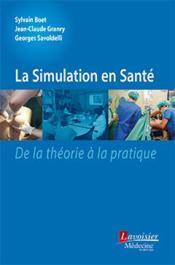 La simulation en santé - Couverture - Format classique