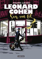 Leonard Cohen sur un fil - Couverture - Format classique