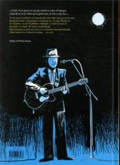Leonard Cohen sur un fil - 4ème de couverture - Format classique