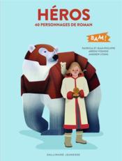 40 personnages de roman - Couverture - Format classique