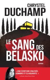 Le sang des Belasko - Couverture - Format classique