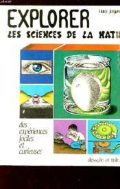 Explorer Sciences Nature - Couverture - Format classique