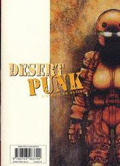 Desert punk t.6 - 4ème de couverture - Format classique