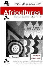 Revue Africultures N.23 ; Internet En Afrique - Couverture - Format classique