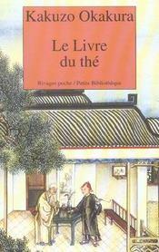 Le Livre Du The - Intérieur - Format classique