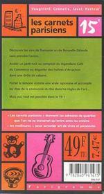 15e Arrondissement - 4ème de couverture - Format classique