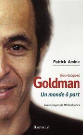 Jean-Jacques Goldman ; un monde à part - Intérieur - Format classique