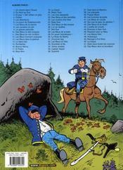 Les Tuniques Bleues T.52 ; des bleus dans le brouillard - 4ème de couverture - Format classique