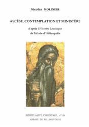 Ascèse, contemplation et ministère - Couverture - Format classique