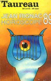 Horoscope 89. Taureau. - Couverture - Format classique