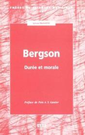 Bergson Duree Et Morale - Couverture - Format classique