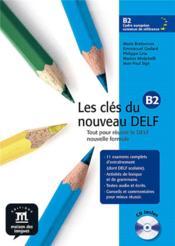 Les clés du nouveau ; livre de l'élève - Couverture - Format classique