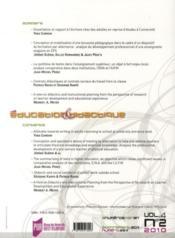 Éducation & didcatique n°4/2 (édition 2010) - 4ème de couverture - Format classique