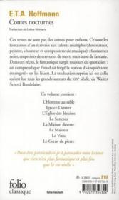 Contes nocturnes - Couverture - Format classique
