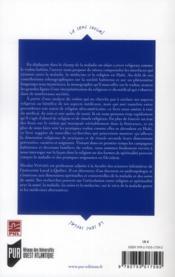 Le vodou haitien; entre médecine, magie et religion - 4ème de couverture - Format classique