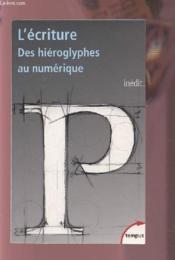 L'écriture - Couverture - Format classique