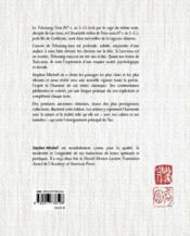 L'éternelle sagesse du Tao ; le rire de Tchouang-tseu - 4ème de couverture - Format classique