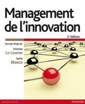 Management de l'innovation (2e édition) - Couverture - Format classique