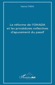 Reforme de l'OHADA et les procédures collectives d'apurement du passif - Couverture - Format classique