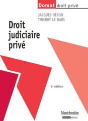 Droit judiciaire privé (5e édition) - Couverture - Format classique