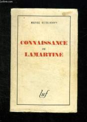 Connaissance De Lamartine. - Couverture - Format classique