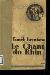 Le Chant Du Rhin - Couverture - Format classique