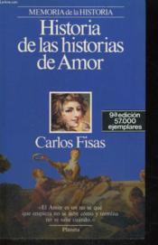 Memoria De La Historia : Historias De Historias De Amor - Couverture - Format classique