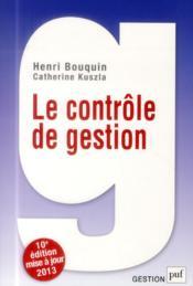 Le contrôle de gestion (10e édition) - Couverture - Format classique