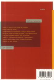 Un lézard amoureux - 4ème de couverture - Format classique