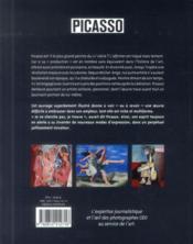 Picasso - 4ème de couverture - Format classique