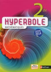 telecharger HYPERBOLE – mathematiques – 2e (edition 2014) livre PDF en ligne gratuit