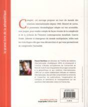 Le grand livre de la géopolitique ; les relations internationales depuis 1945 - 4ème de couverture - Format classique