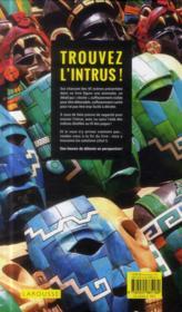 Trouvez l'intrus ! - 4ème de couverture - Format classique