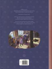 Les carnets de Cerise T.3 ; le dernier des cinq trésors - 4ème de couverture - Format classique