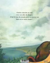 Charles prisonnier du cyclope - 4ème de couverture - Format classique