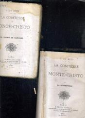 La Comtesse De Monte Cristo - En 2 Tomes - Tome 1 : Le Tresor De Rancogne - Tome 2 : La Redemptrice. - Couverture - Format classique