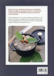 Faire ses terrines ; pâtés, foies gras et charcuteries maison - 4ème de couverture - Format classique