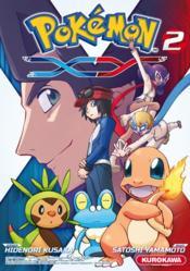 Pokémon - la série XY T.2 - Couverture - Format classique