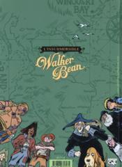 L'insubmersible walker bean - 4ème de couverture - Format classique