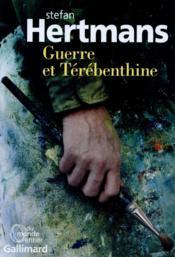 Guerre et térébenthine - Couverture - Format classique